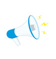 loud speaker icon vector image