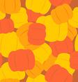 Military texture from pumpkins Army background vector image