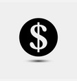 money cash in trendy flat style isolated on vector image