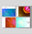 the minimalistic abstract vector image vector image