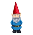 garden gnome vector image