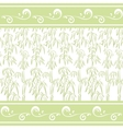 Contour bamboo and abstract pattern vector image