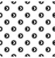Arrow right button pattern simple style vector image vector image