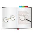 book object vector image vector image