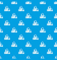 chemical equipment pattern seamless blue vector image vector image