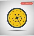 clock icon eps 10 vector image vector image
