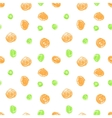 Cute seamless grunge childish pattern vector image vector image