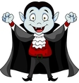 Funny Vampire cartoon vector image vector image