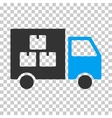 Goods Transportation Car Eps Icon vector image vector image