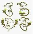 health cooking vector image