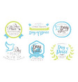 international day peace life in peaceful world vector image vector image