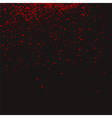 Red grainy texture vector image