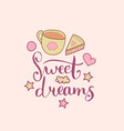 sweet dreams hand lettering cute