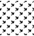 white peace pigeon pattern seamless vector image vector image