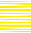 abstract horizontal striped pattern white and vector image vector image