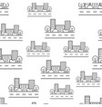 city building seamless pattern background icon vector image vector image