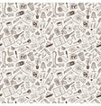 cleaning house - doodles vector image vector image