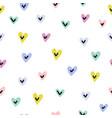 Cute hearts seamless pattern love print
