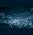 dark blue shining triangular template creative in vector image vector image