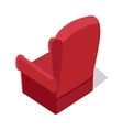 Isometric Home Armchair vector image