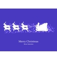 Picture wallpaper for Christmas New Year card vector image vector image