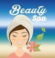 salon spa vector image vector image