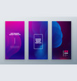 vertical stories sale banner background for social vector image vector image