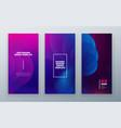 vertical stories sale banner background for social vector image