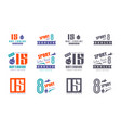 vinyl stickers for race car vector image vector image