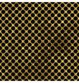 Black and gold pattern Abstract polka dot vector image