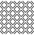 black and white classic seamless pattern vector image vector image