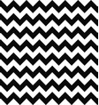 Black and white seamless chevron pattern vector image vector image