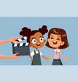 children taking acting classes cartoon