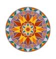 Colour Flower Mandala Ethnic decorative vector image