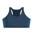 female gym blouse icon vector image