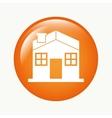house button vector image vector image
