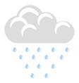isolated rainy weather icon vector image