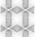 seamless pattern rhombuses vector image vector image