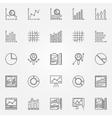 analytics icons set