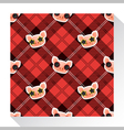 Animal seamless pattern collection with piggy 6 vector image vector image