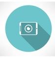 camera phone icon vector image