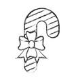christmas stick icon vector image