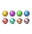 disco balls night club glitter discoballs shiny vector image