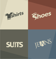 Fashion logo design concepts vector image