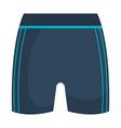 female gym shorts icon vector image