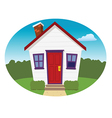 house american vector image vector image