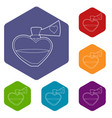 love potion icon outline style vector image vector image