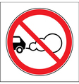 parking with engine running vector image vector image