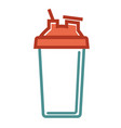 shaker for healthy food vector image