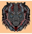 Stylised wolf vector image vector image